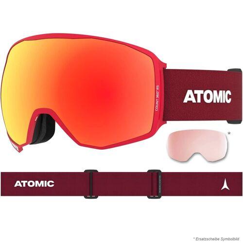 Atomic Count 360° HD RS red + 2 Ersatzscheiben