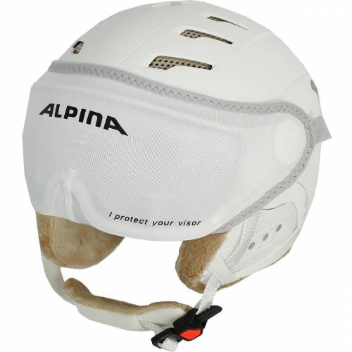 Alpina Skihelm Visier Cover white