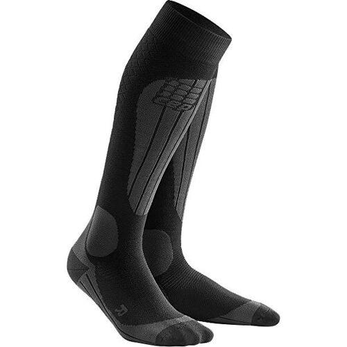 CEP Women Ski Socks Thermo black/anthracite