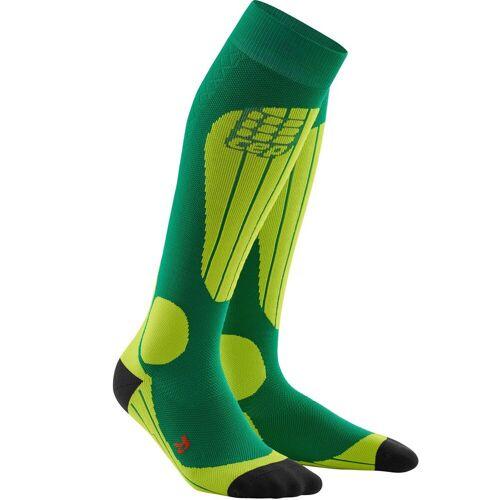 CEP Men Ski Socks Thermo forest/light green