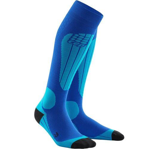 CEP Men Ski Socks Thermo blue/azure