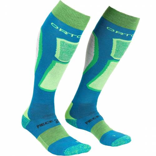 Ortovox Men Ski Socks ROCK'N'WOOL blue sea