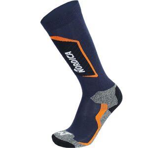 Nordica Ski Socks TECH Junior dark blue/orange