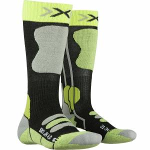 X-Bionic X-Socks SKI JUNIOR green lime