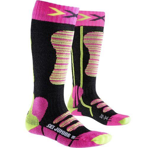 X-Bionic X-Socks Junior Ski fuchsia/yellow