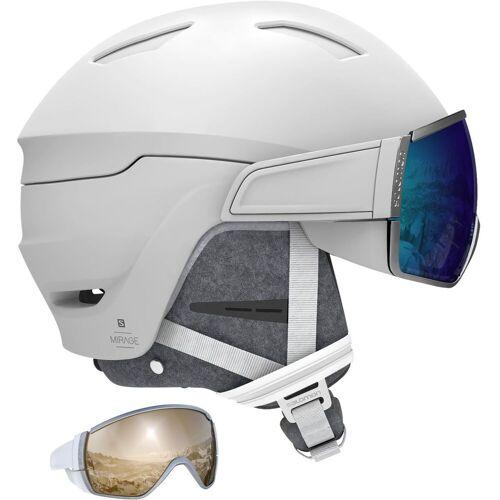 Salomon Mirage CA white ML blue + Ersatzvisier