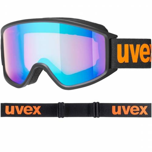 Uvex g.gl 3000 CV black matt-orange / blue-orange