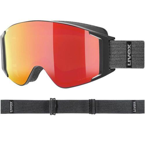 Uvex g.gl 3000 TO black matt / FM red, lasergold-clear