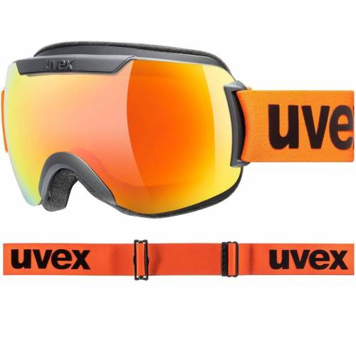 Uvex Downhill 2000 CV black matt / orange-orange
