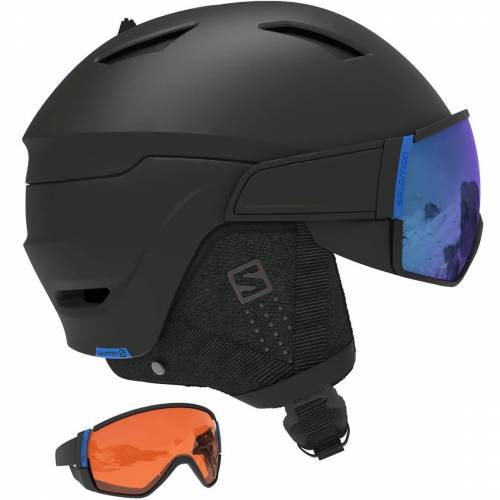 Salomon Driver CA black ML blue + Ersatzvisier