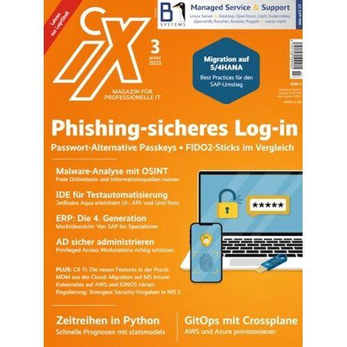 iX Magazin Abo