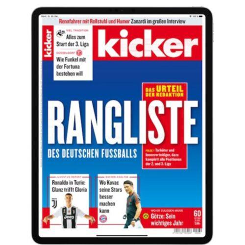 Kicker eMagazine plus Abo