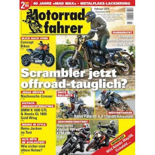 Motorradfahrer Abo