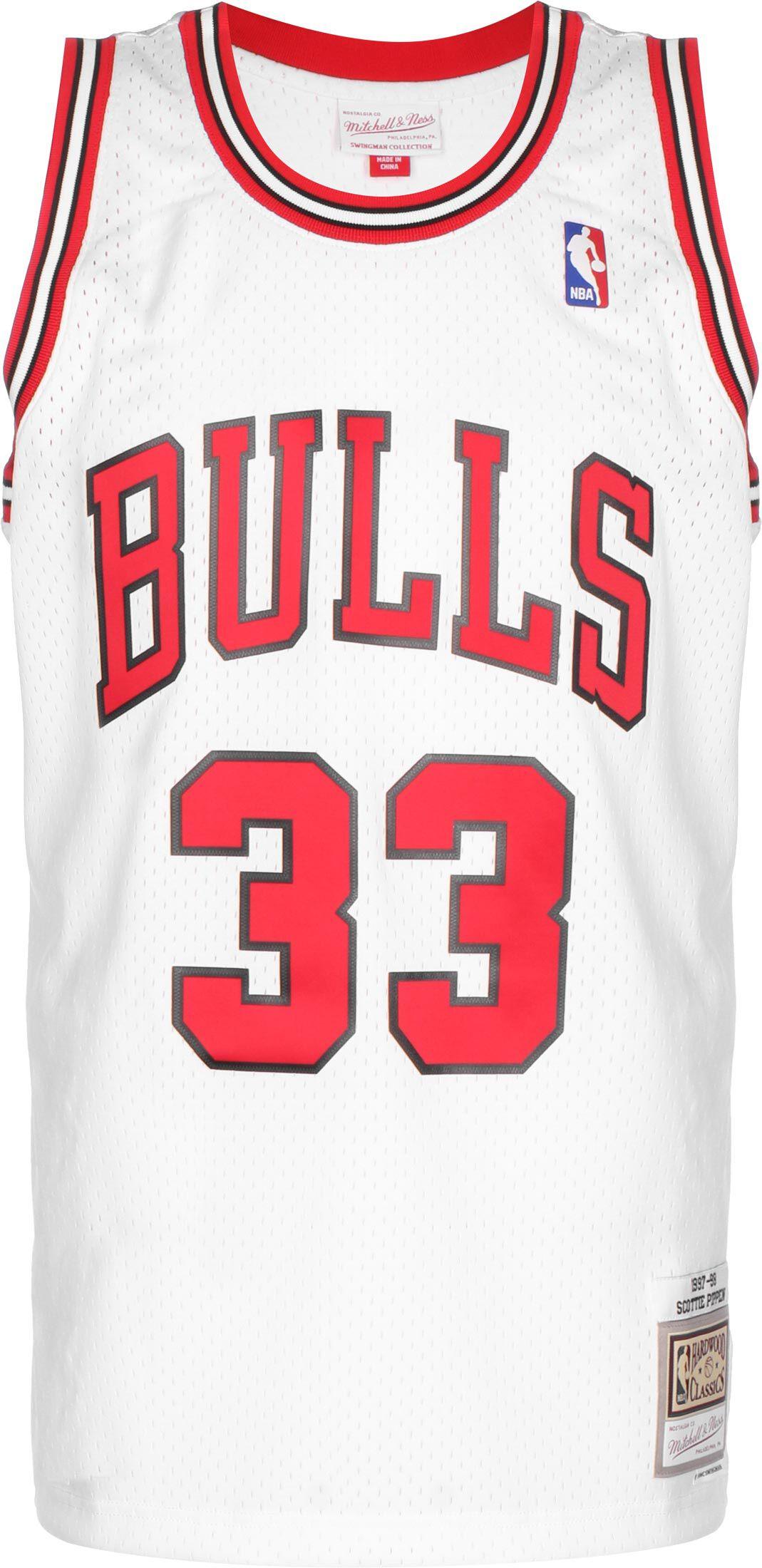 Mitchell & Ness Swingman Chicago Bulls Scottie Pippen, Gr. XL, Herren, weiß