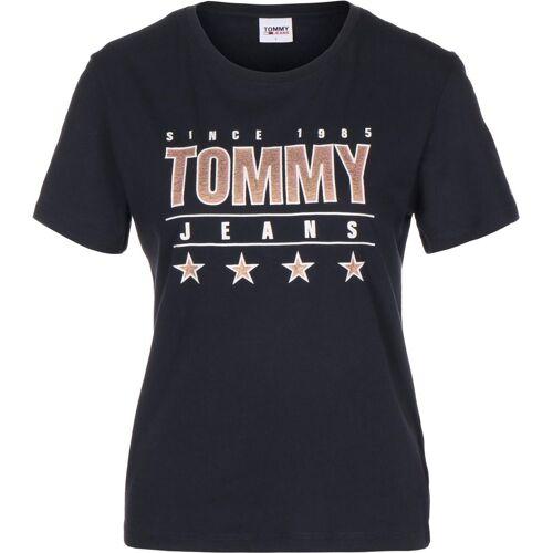 Tommy Jeans Slim Metallic, Gr. L, Damen, blau