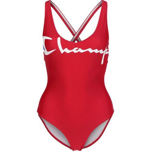 Champion Damen Badeanzug rot S