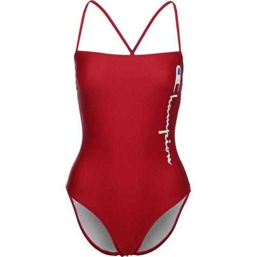 Champion Damen Badeanzug rot XS