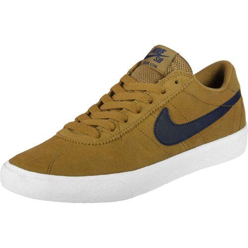 Nike SB Bruin Lo braun blau 35,5 EU