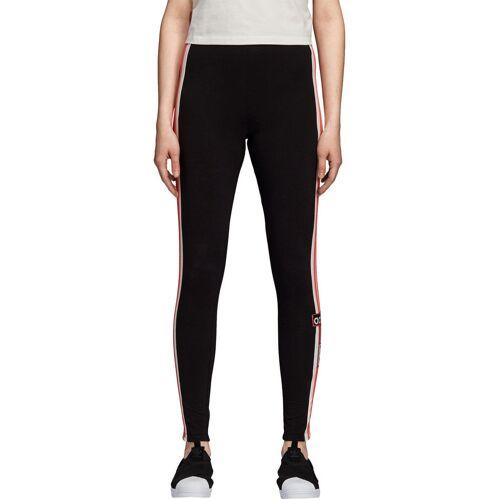 Adidas Adibreak, Gr. 32, Damen, schwarz weiß rot