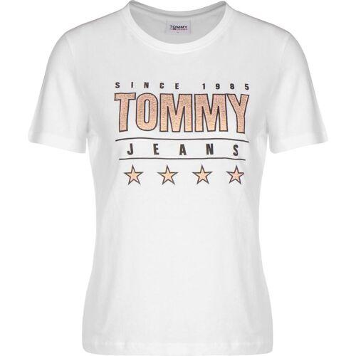 Tommy Jeans Slim Metallic, Gr. S, Damen, weiß
