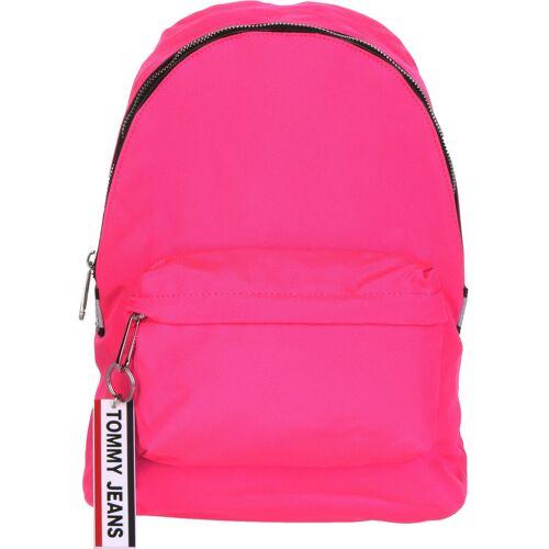 Tommy Jeans Logo Tape MI Damen pink neon
