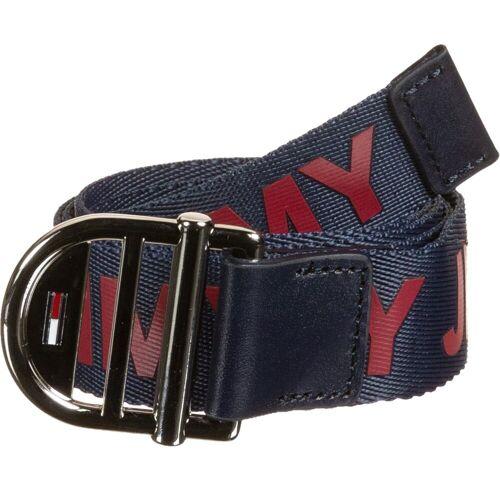 Tommy Jeans Webbing 3.0, Gr. 80 cm, Damen, blau rot