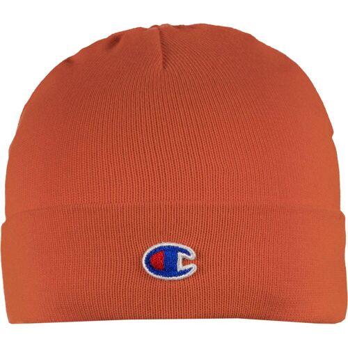 Champion Beanie, One Size, orange rot