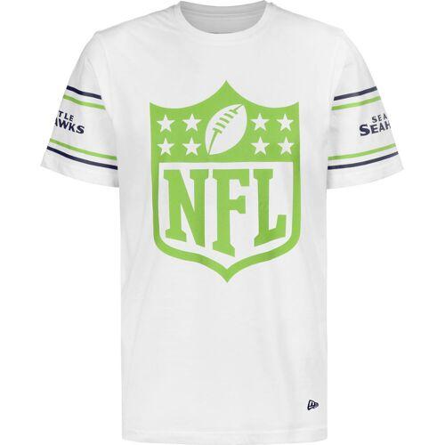 New Era NFL Badge Seattle Seahawks Herren, weiß, Gr. S