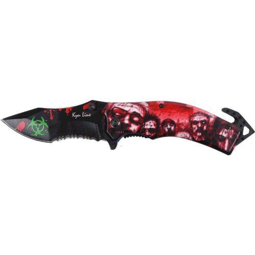 GT-DEKO - Fantasy und Schwert Shop Einhandmesser Zombie