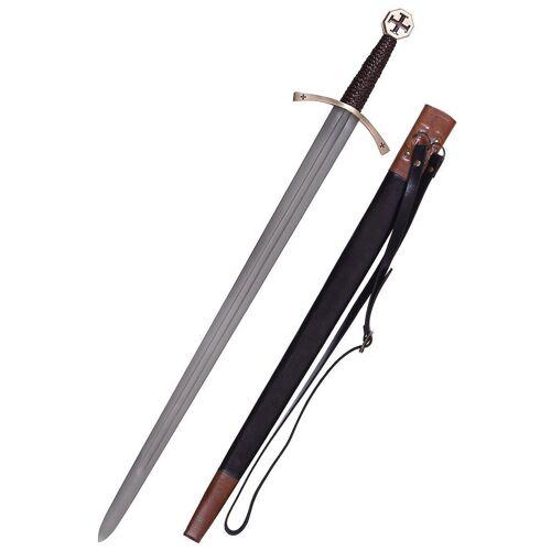 GT-DEKO - Fantasy und Schwert Shop Templer Schwert mit Tatzenkreuz