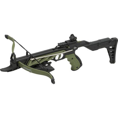GT-DEKO - Fantasy und Schwert Shop Armbrustpistole Alligator I grün