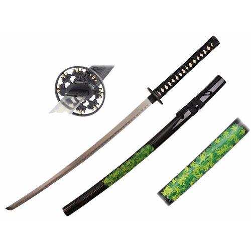 GT-DEKO - Fantasy und Schwert Shop Katana Marihuana