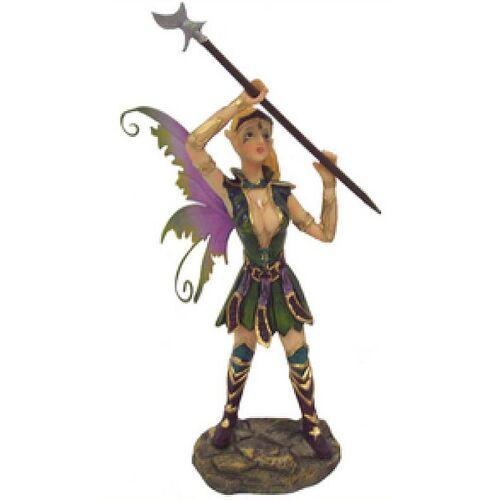 GT-DEKO - Fantasy und Schwert Shop Elfe mit Hellebarde