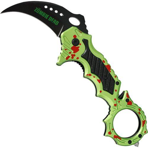 GT-DEKO - Fantasy und Schwert Shop Zombie Karambit Dead Taschenmesser