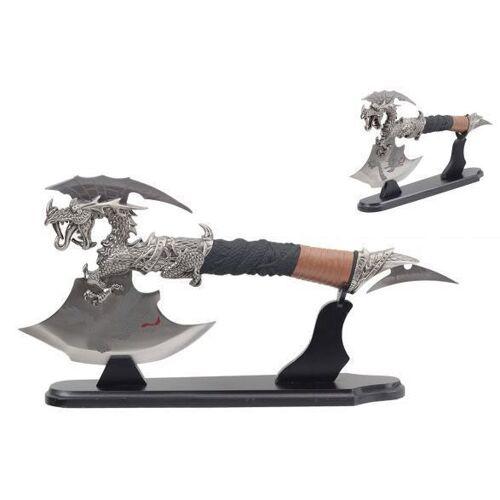 GT-DEKO - Fantasy und Schwert Shop Fantasy Drachenaxt