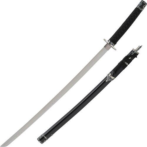 GT-DEKO - Fantasy und Schwert Shop Katana mit Beimessern schwarz