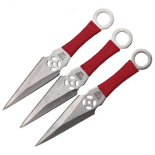 GT-DEKO - Fantasy und Schwert Shop Wurfmesser Kunai 3er Set