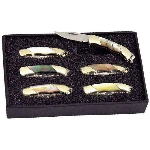 GT-DEKO - Fantasy und Schwert Shop Mini Taschenmesser-Set 6 tlg.