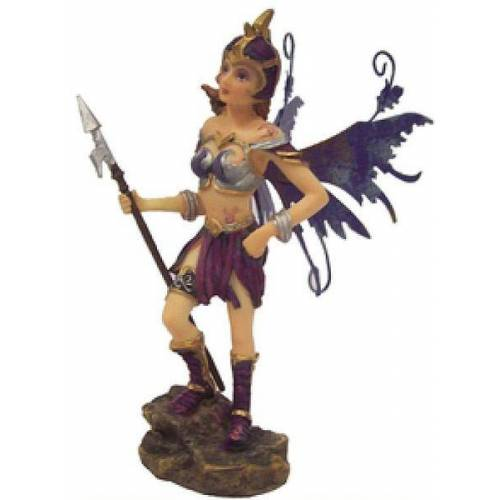 GT-DEKO - Fantasy und Schwert Shop Elfe mit Lanze