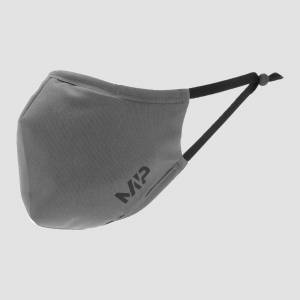 MP Mund-Nasen-Maske mit Filter - Grau