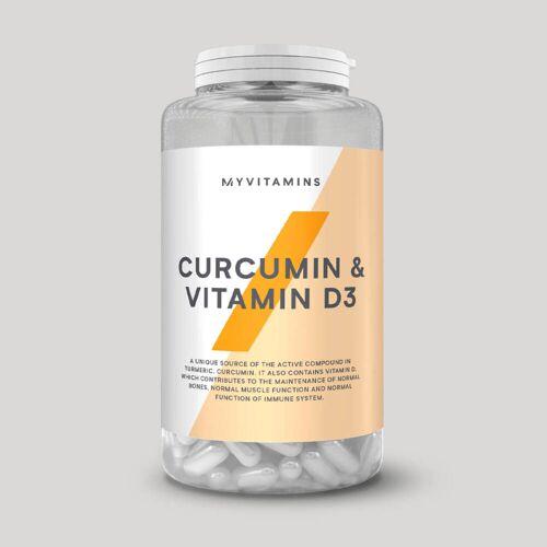 Myvitamins Curcumin & Vitamin D3 - 60Kapseln