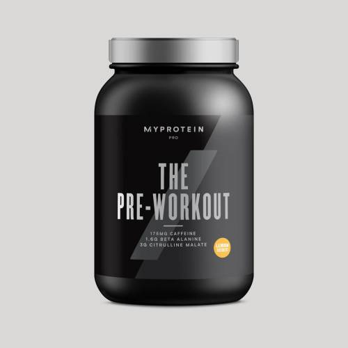 Myprotein THE Pre-Workout - 30servings - Zitronensorbet