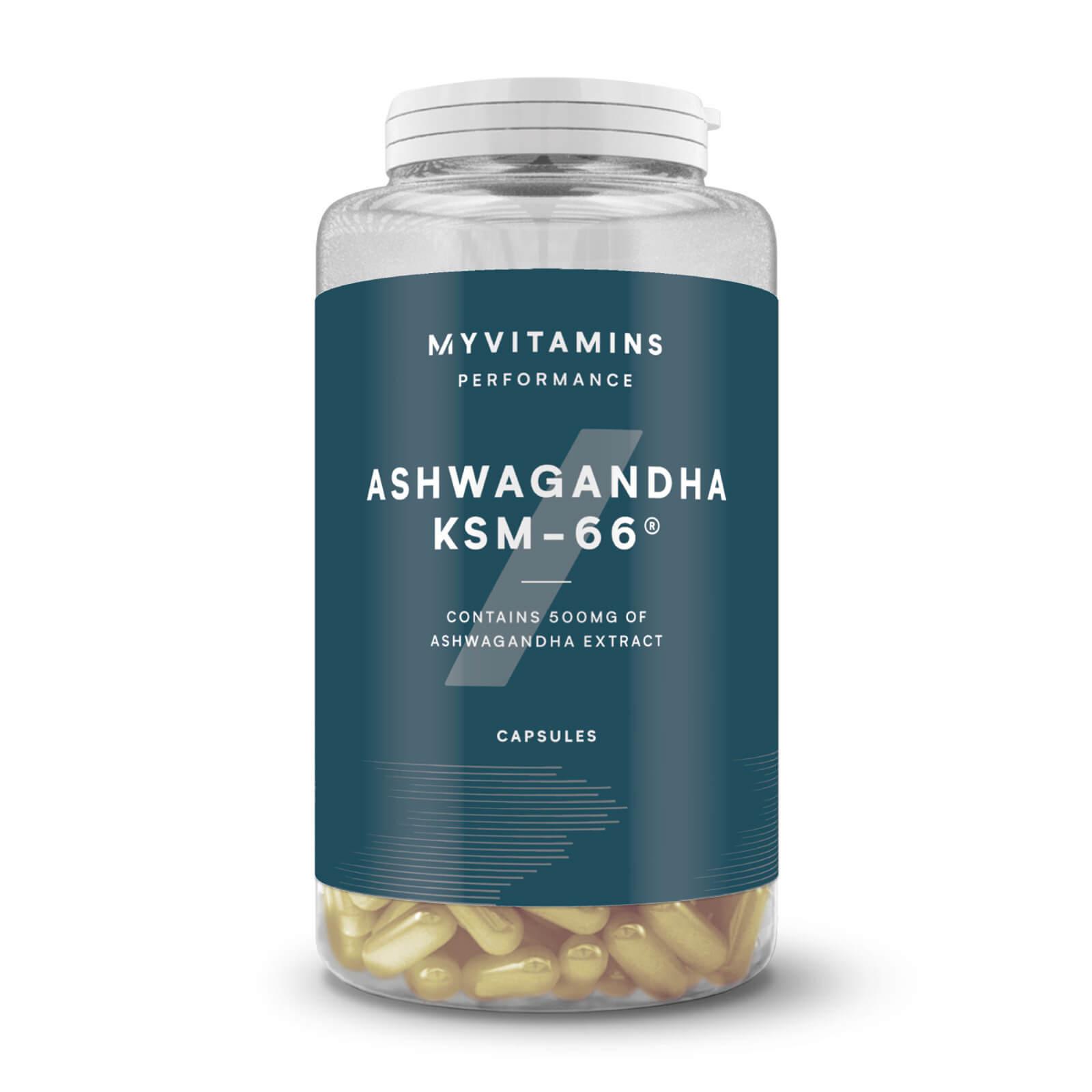 Myvitamins KSM-66® Ashwagandha Kapseln - 90Kapseln