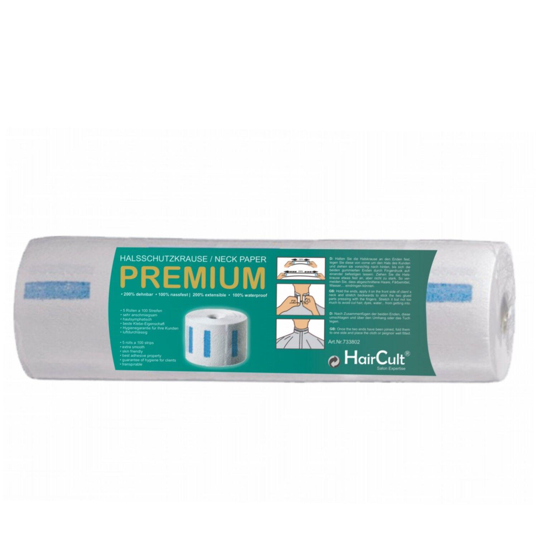 HairCult Halsschutzkrause PREMIUM 5 x 100 Streifen
