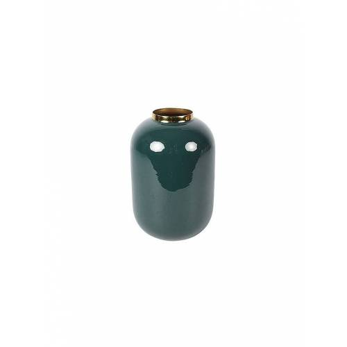 COUNTRYFIELD Vase Madras S 24,5cm Blaugrün petrol   783237