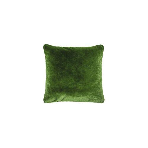 ESSENZA Zierkissen in Felloptik Flurry 50x50cm gefüllt grün