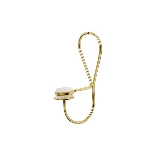 HAY Wand-Kerzenhalter (Messing) gold