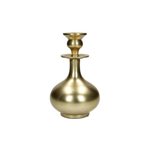 KERSTEN Kerzenleuchter 13x21,5cm gold