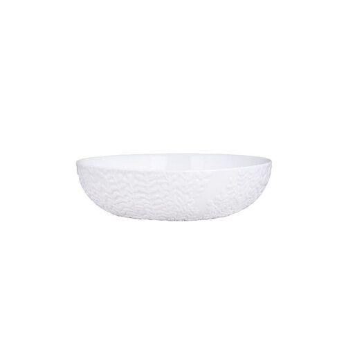 RAEDER Schale gross 18,5cm weiß