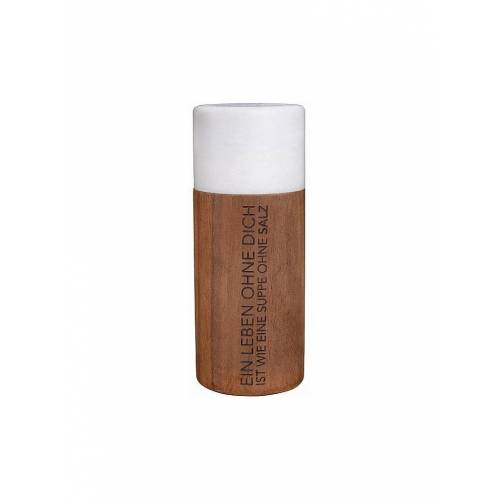 RAEDER Marmor Salzmühle 15,5cm weiß
